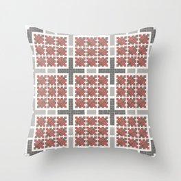 Graph 4 on Grey Throw Pillow