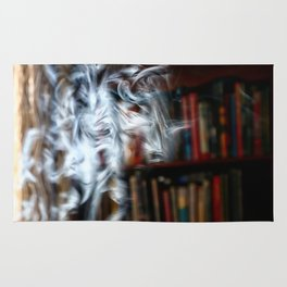 painting with Smoke - Dancing Horse Rug