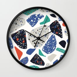 Abstract stones pattern Wall Clock