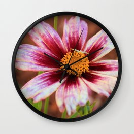 Hannah's Flower & Friend Wall Clock
