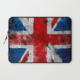 Great Britain grunge flag Laptop Sleeve