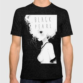 Black pearls T-shirt