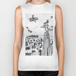 New York City Cat Biker Tank