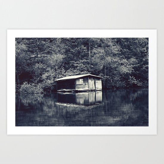 Cabin In The Woods, Revisited Art Print
