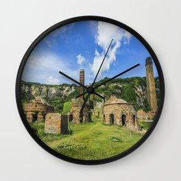 Porth Wen Brickworks Wall Clock