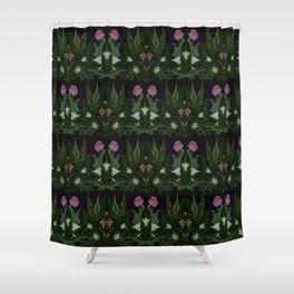 The Poison Garden - Datura Shower Curtain