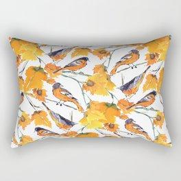Birds in Autumn Rectangular Pillow