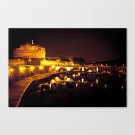 Castel sant'angelo Roma Canvas Print