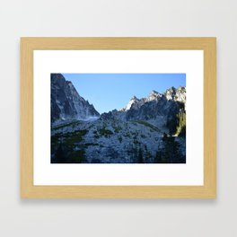 Room with a View - Colchuck Lake, Washington State Framed Art Print