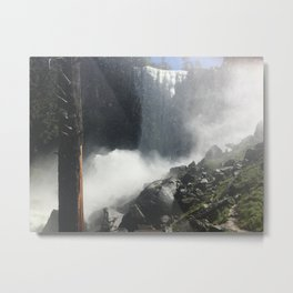 The View will be Mist Metal Print
