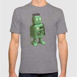 Robot vs Alien T-shirt