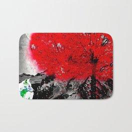 TREE RED WOLF Bath Mat