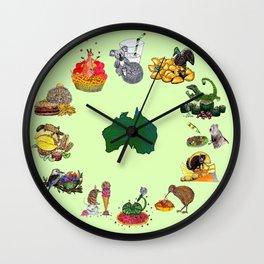 Snacks of Life: Australia Wall Clock