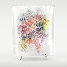 The Leftovers Shower Curtain
