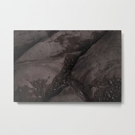 #earth #texture Metal Print