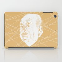 hitchcock iPad Cases featuring Hitchcock Web by FSDisseny