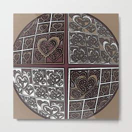 World of Love #3 Metal Print