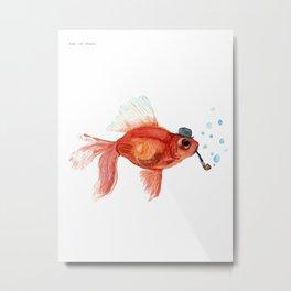 A gentleman's fish Metal Print