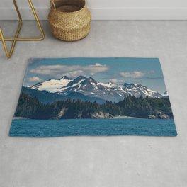 Kachemak_Bay Mountains - Alaska Rug