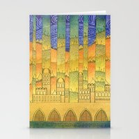 israel Stationery Cards featuring Israel by Eugene Frost