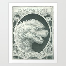 In God We Trust Art Print