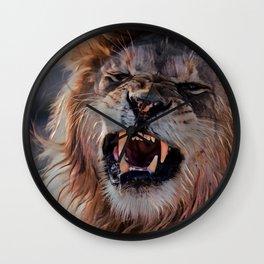 Let Me Roar Wall Clock