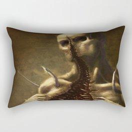 Mouthface Rectangular Pillow