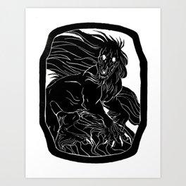 Kalki Art Print