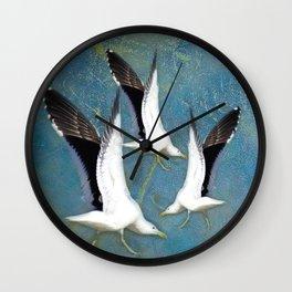 Jeffy Seagull Wall Clock