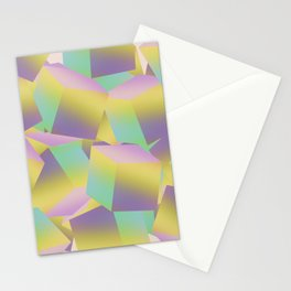 Fade Cubes B2 Stationery Cards