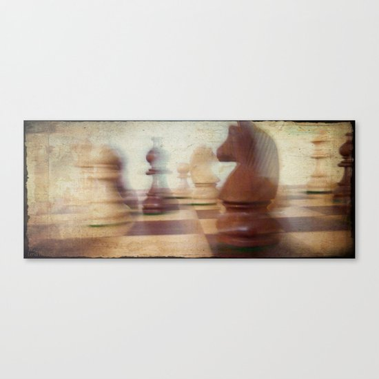 Poetry of The Game Canvas Print