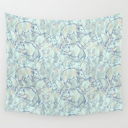 Wild Boars Wall Tapestry
