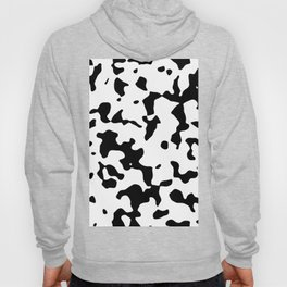 Large Spots - White and Black Hoody