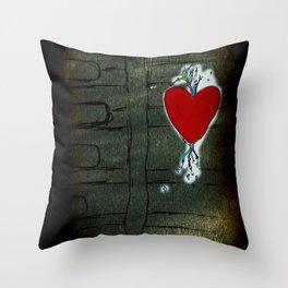 Love Malfunction Throw Pillow