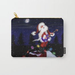 Santa's Guitar Carry-All Pouch