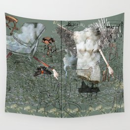 Dionysus and Apollo Wall Tapestry