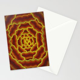 Aborigine abstract 3 Stationery Cards