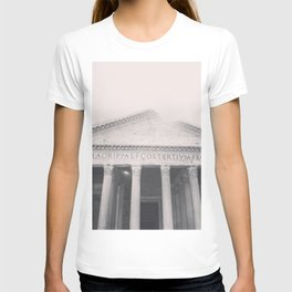 The Pantheon, fine art print, black & white photo, Rome photography, Italy lover, Roman history T-shirt