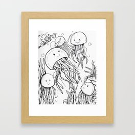 Jelly School Framed Art Print