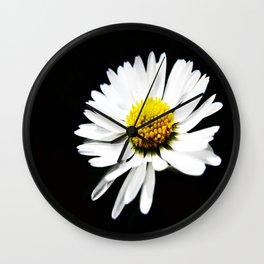 One Daisy  Wall Clock