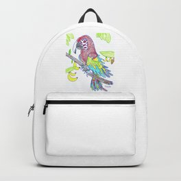 Scarlett Macaw Backpack