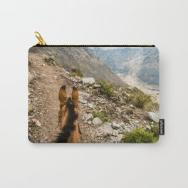 Horseback | Nature Landscape Mountain Photography During Hike in Peru Carry-All Pouch