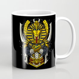 Egyptian Pharaoh Tutankhamun Ancient King Tut Coffee Mug