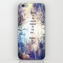 Natural Cleanser iPhone Skin