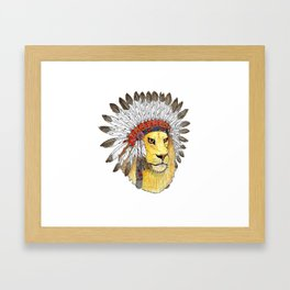 Guardian of your Dreams Framed Art Print