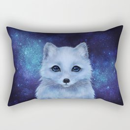 Arctic Fox Rectangular Pillow
