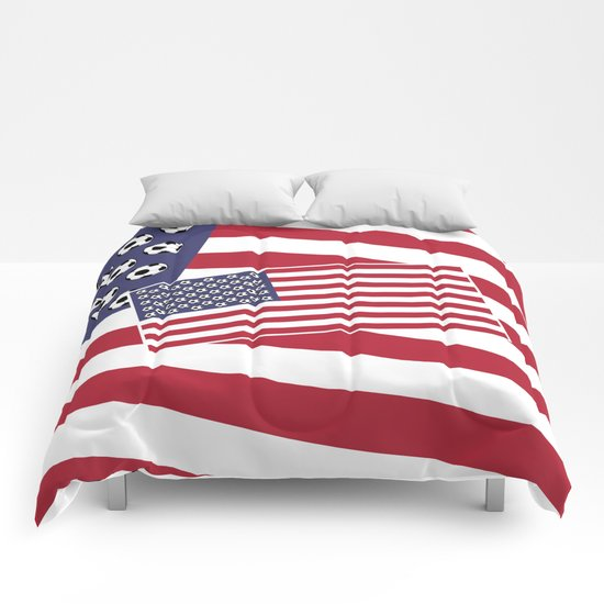 United States of Soccer Comforters