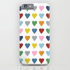 64 Hearts iPhone 6s Slim Case
