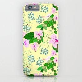 Jamaican Hibiscus iPhone Case