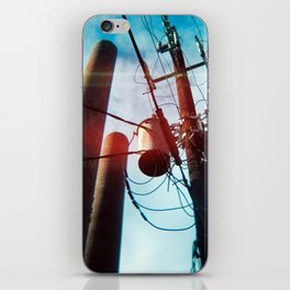 Power Lines iPhone Skin